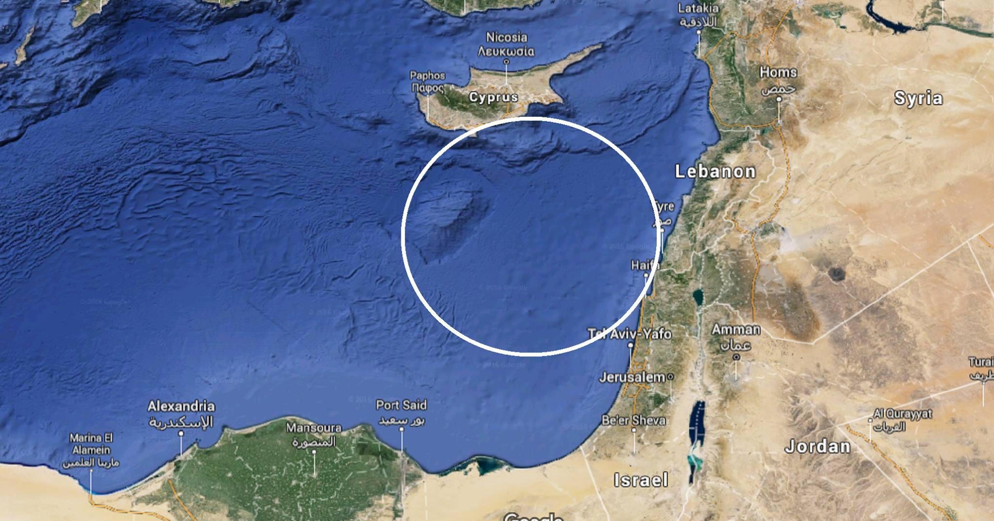 Sailing Israel - Cyprus - Israel