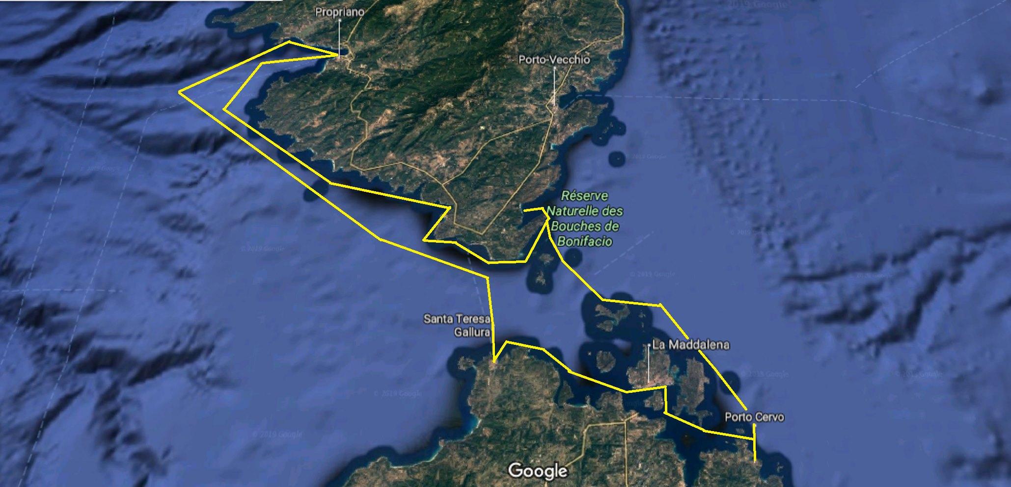 Sailing Corsica & Sardinia