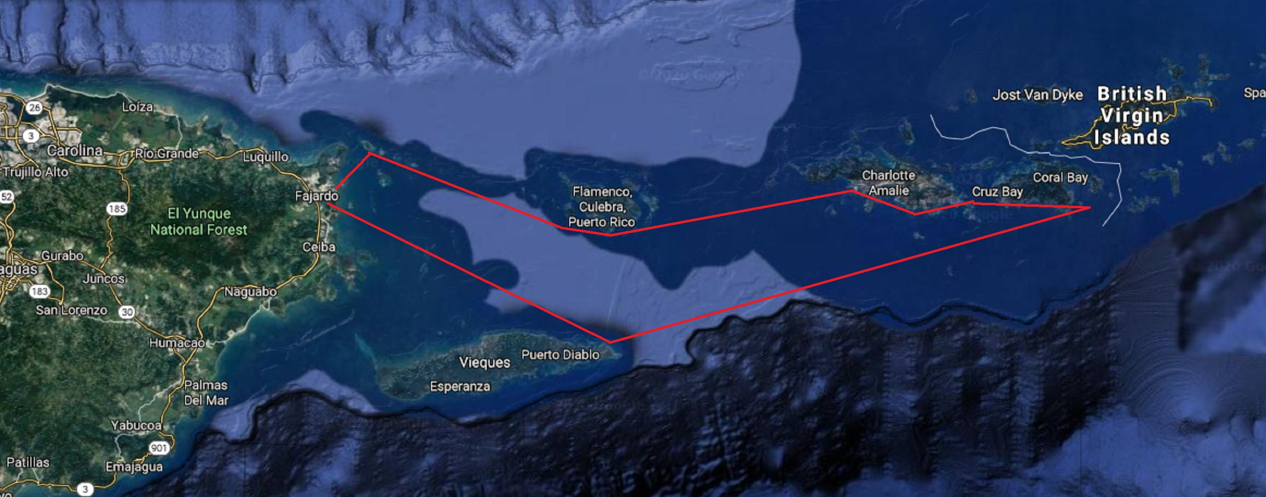 Sailing Puerto Rico and US Virgin Islands